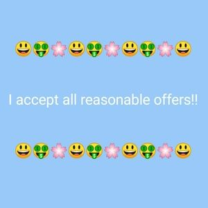 Other - I accept all reasonable offers!!